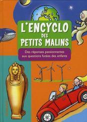 L'encyclo des petits malins - Intérieur - Format classique