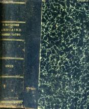 Annuaire Pontifical Catholique - Xviiie Annee - 1915 . - Couverture - Format classique