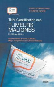 TNM ; classification des tumeurs malines (8e édition) - Couverture - Format classique