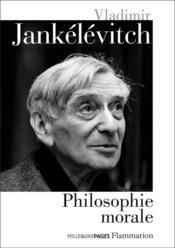 Philosophie morale - Couverture - Format classique