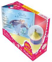 Disney Princesses ; boule à neige pailletée ; Belle à la rescousse - Couverture - Format classique
