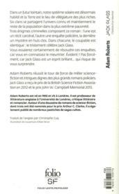 Jack Glass ; l'histoire d'un meurtrier - 4ème de couverture - Format classique