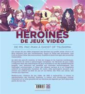 Héroïnes de jeux vidéo ; princesses sans détresse - 4ème de couverture - Format classique