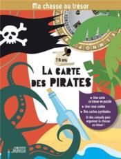 Ma chasse au trésor : la carte des pirates - Couverture - Format classique