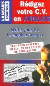 Redigez Votre Cv En Anglais - Intérieur - Format classique
