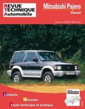 Rta 517.2 Mitsubishi Pajero Diesel (83-92) - Couverture - Format classique