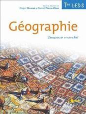 Geographie termimales l es s - Couverture - Format classique