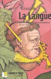 La langue - Couverture - Format classique