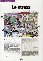 Petit Guide T.65 ; Le Stress - Intérieur - Format classique