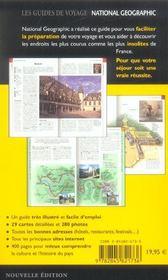 France n ed - 4ème de couverture - Format classique