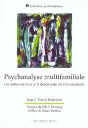 Psychanalyse multifamiliale - Intérieur - Format classique