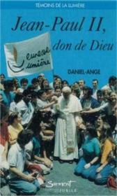 Jean paul ii, don de dieu - Couverture - Format classique