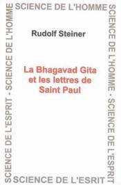 Bhagavad gita et les lettres - Couverture - Format classique