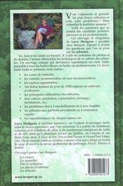 Arbustes (Les) - 4ème de couverture - Format classique