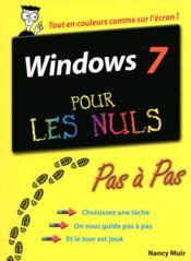 telecharger Windows 7 pas a pas pour les nuls livre PDF en ligne gratuit