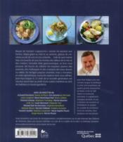 La cuisine de la mer - 4ème de couverture - Format classique