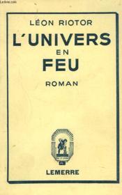 L'Univers En Feu - Couverture - Format classique