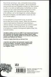 Jardins de la dissidence - 4ème de couverture - Format classique