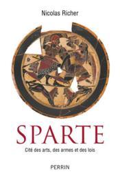 Histoire de Sparte - Couverture - Format classique