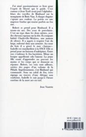 Rainbow pour Rimbaud - 4ème de couverture - Format classique