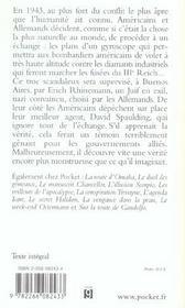L'echange rhinemann - 4ème de couverture - Format classique