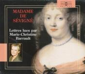 Lettres de Madame de Sévigné - Couverture - Format classique