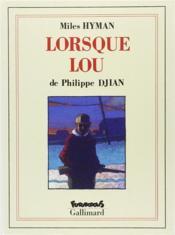 Lorsque Lou - Couverture - Format classique