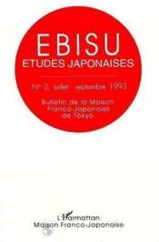 Ebisu N0 2 - Couverture - Format classique