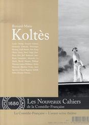 Bernard-marie koltès - Intérieur - Format classique