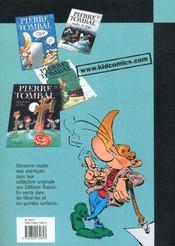 Pierre Tombal Pirate T.16; Tombe La Neige - 4ème de couverture - Format classique