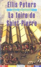 La foire de Saint-Pierre - Couverture - Format classique