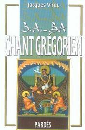 Chant grégorien - Intérieur - Format classique