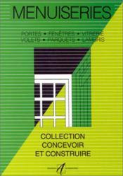 Menuiseries (Portes, Fenetres, Vitrerie, Parquets, Volets, Lamb - Couverture - Format classique