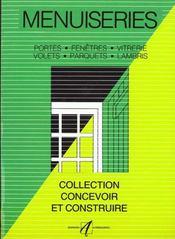 Menuiseries (Portes, Fenetres, Vitrerie, Parquets, Volets, Lamb - Intérieur - Format classique