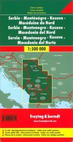 Serbie, Montenegro, Macedoine - 4ème de couverture - Format classique