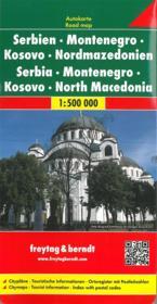 Serbie, Montenegro, Macedoine - Couverture - Format classique