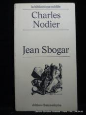 Jean Sbogar - Couverture - Format classique
