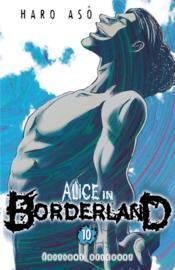 Alice in Borderland T.10 - Couverture - Format classique