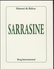Sarrasine - Couverture - Format classique