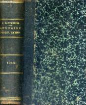 Annuaire Pontifical Catholique - Xvie Annee 1913. - Couverture - Format classique