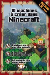 10 machines à créer dans Minecraft - Couverture - Format classique