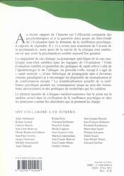 Cliniques Mediterraneennes T.71 - 4ème de couverture - Format classique