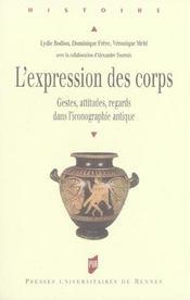 Expression du corps. dans l iconographie antique - Intérieur - Format classique