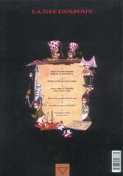 La nef des fous t.5 ; puzzle - 4ème de couverture - Format classique
