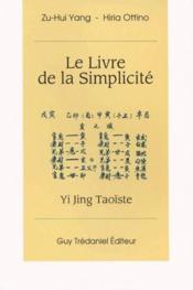 Livre De La Simplicite (Le) - Couverture - Format classique