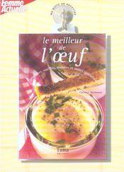 Ma boîte de recettes - Le meileur de l'œuf - Intérieur - Format classique