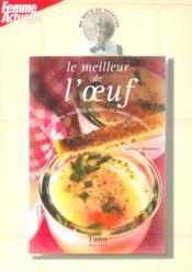 Ma boîte de recettes - Le meileur de l'œuf - Couverture - Format classique