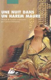 Une nuit dans un harem maure - Couverture - Format classique