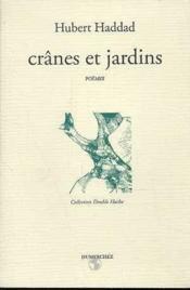 Cranes Et Jardins - Couverture - Format classique