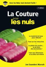 telecharger La couture pour les nuls livre PDF en ligne gratuit